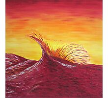 Sunset Wave Photographic Print