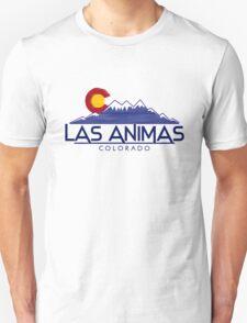 Las Animas Colorado wood mountains T-Shirt