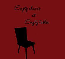 Empty Chairs by rippledancer