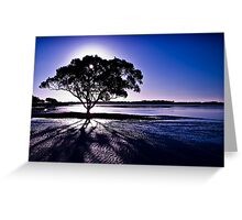 In the Shadows Greeting Card
