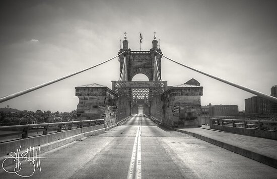Roebling Bridge by Eric Scott Birdwhistell