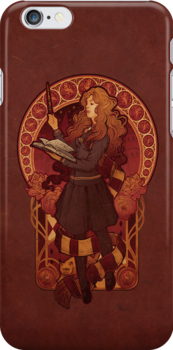 The Brightest Witch of Her Age - Iphone Case by MeganLara