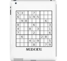 Sudoku iPad Case iPad Case/Skin