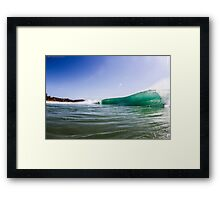 Sunshine Barrels Framed Print