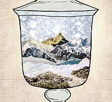 Snow Jar by jenndalyn