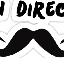 Juan Direction | With Moustache! Sticker