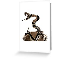 Snake Greeting Card