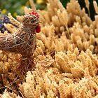 Straw chicken and wheat by eugenesim