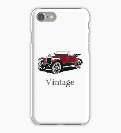 Vintage Motor iPhone Case iPhone Case/Skin