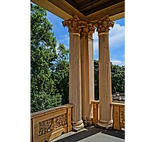 magnificent columns, HDR Photo Photographic Print