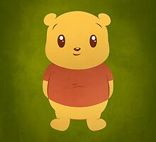 Cute Pooh Bear by geraldbriones