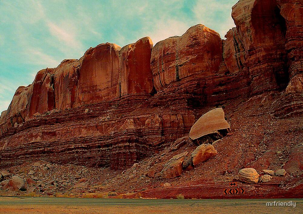 Wall of Rock by mrfriendly