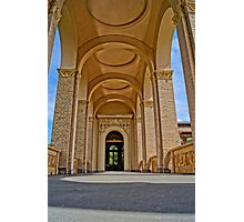 beautiful columns, HDR Photo Photographic Print