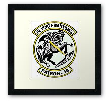 VP-18 - Flying Phantoms Framed Print