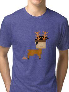 Poop  Horn Tri-blend T-Shirt