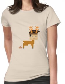 Poop  Horn Womens Fitted T-Shirt