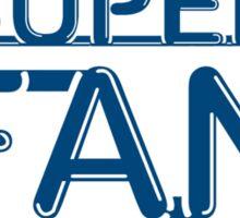 Super Fan Sticker