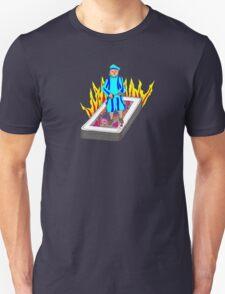 The Boy Stood on the Burning Deck T-Shirt