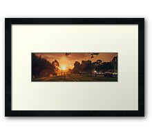 Maylands Fog Framed Print