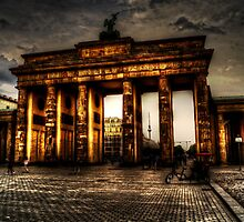 Brandenburger Tor of Berlin by Alexander Drum
