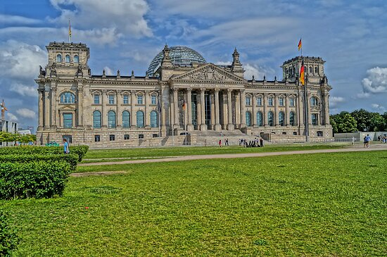 Reichstag of Berlin, HDR Photo by Alexander Drum