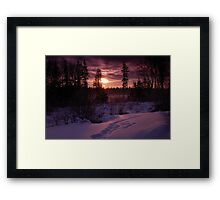Tranquility Base Framed Print