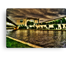 government of berlin, HDR photo Canvas Print