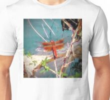Coppery Dragonfly Unisex T-Shirt