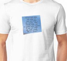 Grey's Anatomy -  Post-it! Unisex T-Shirt