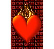 *•.¸♥♥¸.•* BURNING LOVE IPHONE CASE *•.¸♥♥¸.•* by ✿✿ Bonita ✿✿ ђєℓℓσ