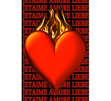 *•.¸♥♥¸.•* BURNING LOVE IPHONE CASE *•.¸♥♥¸.•* by ╰⊰✿ℒᵒᶹᵉ Bonita✿⊱╮ Lalonde✿⊱╮
