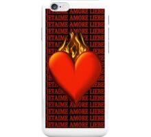 *•.¸♥♥¸.•* BURNING LOVE IPHONE CASE *•.¸♥♥¸.•* iPhone Case/Skin