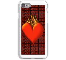 *•.¸♥♥¸.•* BURNING LOVE IPHONE CASE *•.¸♥♥¸.•* iPhone Case/Skin