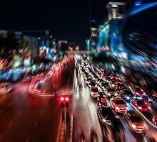 Bangkok Motion Blur by fharoonz