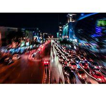 Bangkok Motion Blur Photographic Print