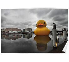 Big Duck in the City Poster
