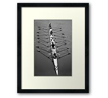 Rowers Framed Print