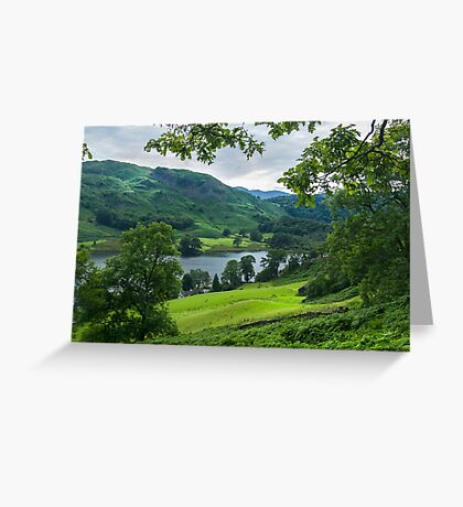 Rydal Water View Greeting Card
