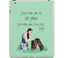Dorothy and Toto's Place iPad Case/Skin