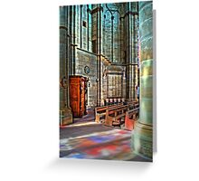 Trier Liebfrauenkirche, HDR Greeting Card