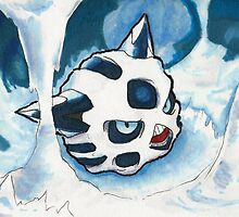Glalie by little-ampharos