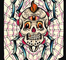Spider Skull by MikeFrench