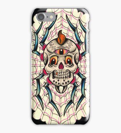 Spider Skull iPhone Case/Skin