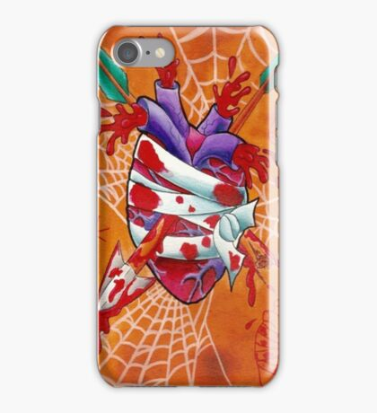 Arrow Through the Heart iPhone Case/Skin