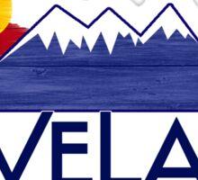Loveland Colorado wood mountains Sticker