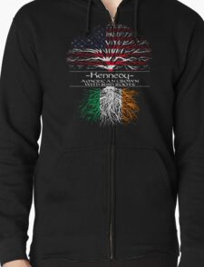 Kennedy - America Grown with Irish Roots T-Shirt