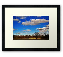 Created by nature Framed Print