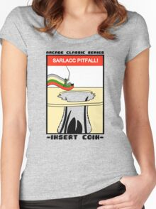 Sarlacc Pitfall! Women's Fitted Scoop T-Shirt
