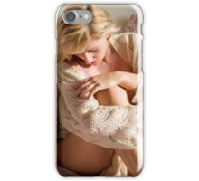 Knitted top iPhone Case/Skin