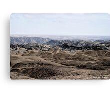 Moon landscape Namibia Canvas Print